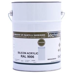 silicon-acrylic-ral9006